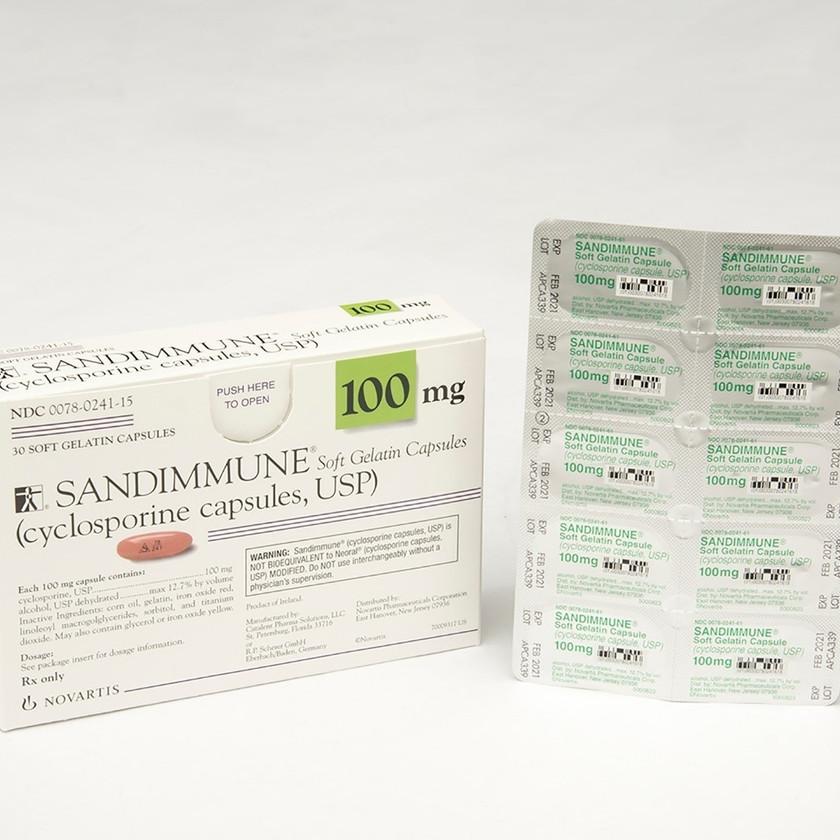 100 mg Sandimmune and Neoral P
