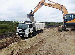 Доставка песка в Ногинск, Электросталь и