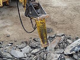демонтаж асфальта, бетона. Гидромолот в аренду. 8(966)190-55-66