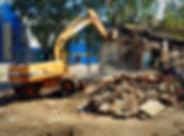 Слом зданий _ Ногинский район, Ногинск,