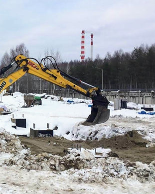 Аренда трактора погрузчика _ Ногинск, Но