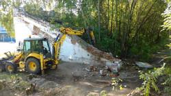 Демонтаж стены в Ногинске