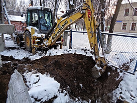 Трактор для копания траншей | Ногинске, Ногинский район.
