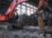 Демонтаж промышленных конструкций