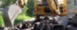 Взламывание асфальта, демонтаж фундаментов, слом строений. +7(966)190-55-66