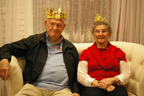 King and Queen!