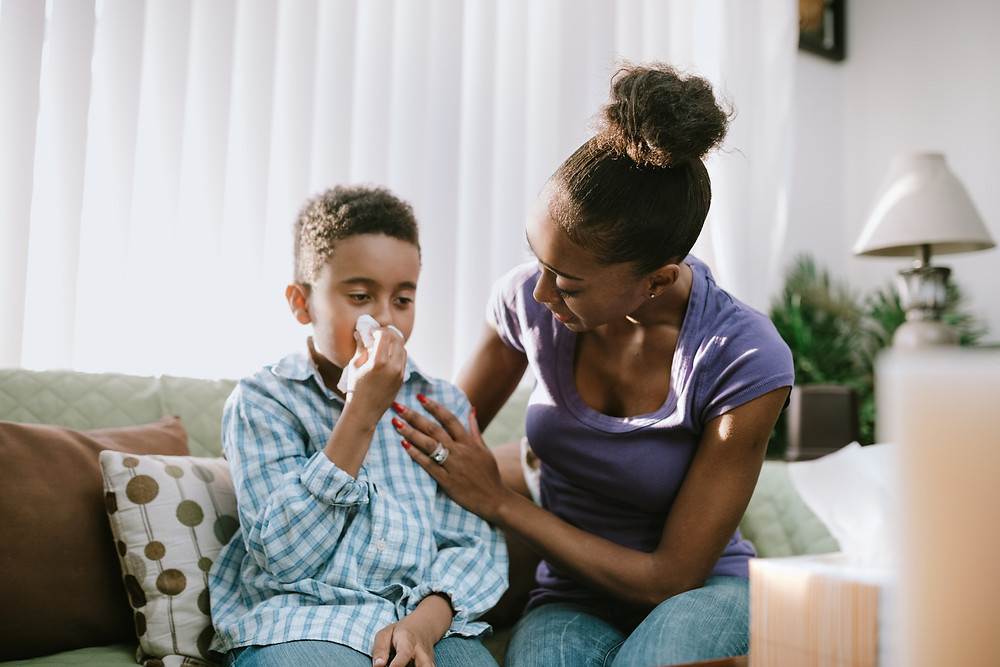 Sinus infections in children are common and can develop from seasonal allergies.