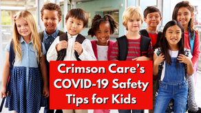 School is in Session: Crimson Care's COVID-19 Safety Tips for Kids