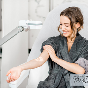 Remove spider veins with laser therapy using Candela GentleMax