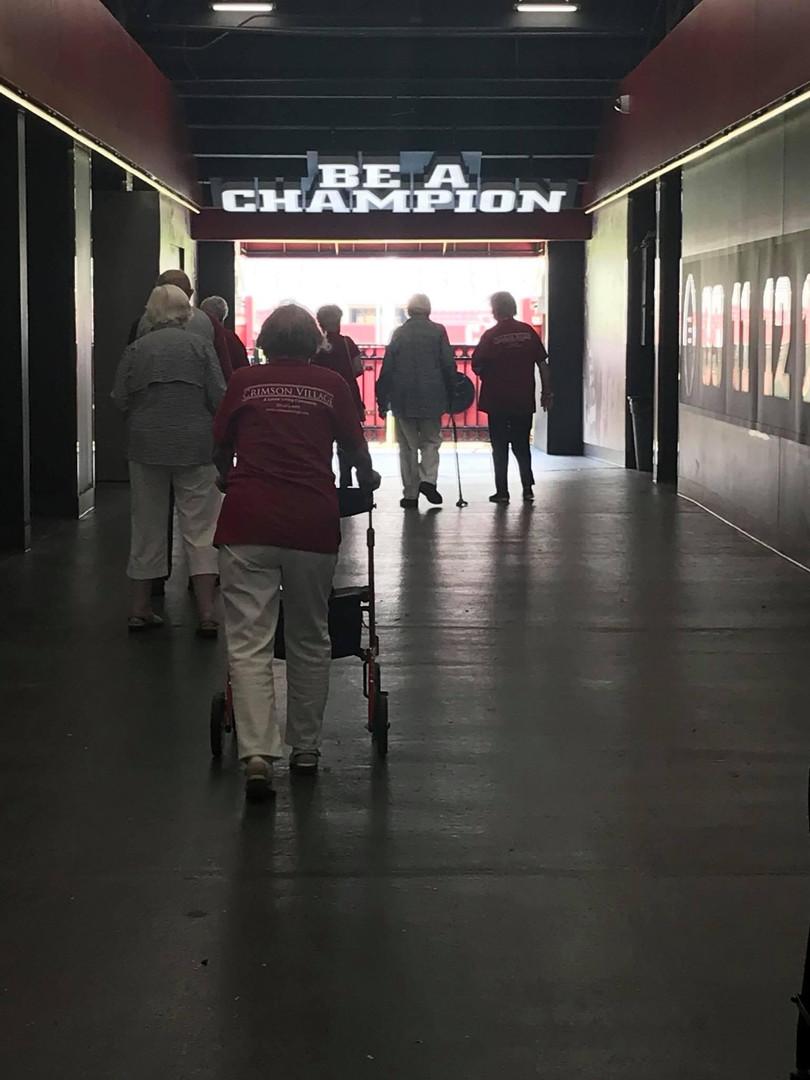 Visiting Bryant Denny Stadium!
