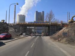 Kompletní oprava mostu v km 31,834 Ledvi