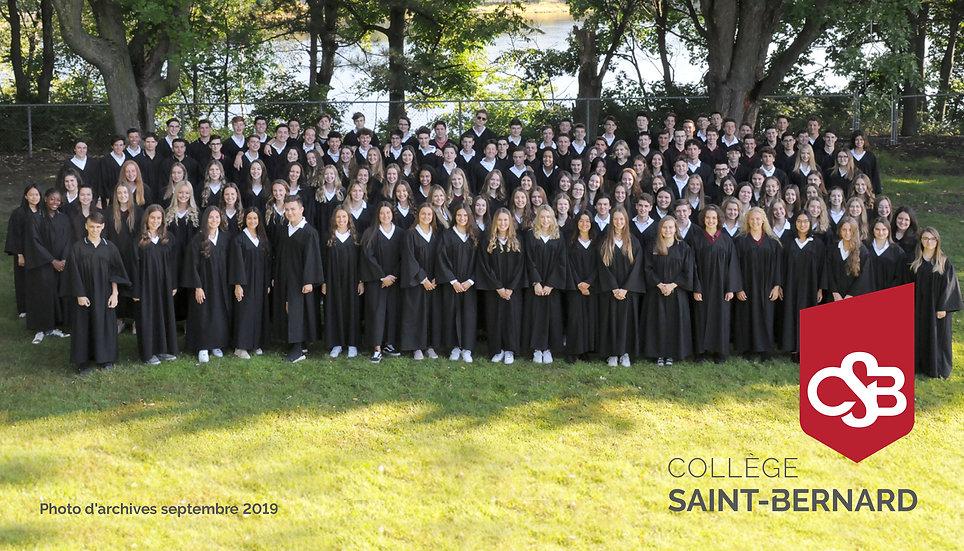 Remise des diplômes du Collège St-Bernard