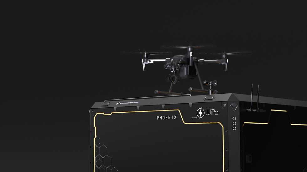 WiPort drone nest platform