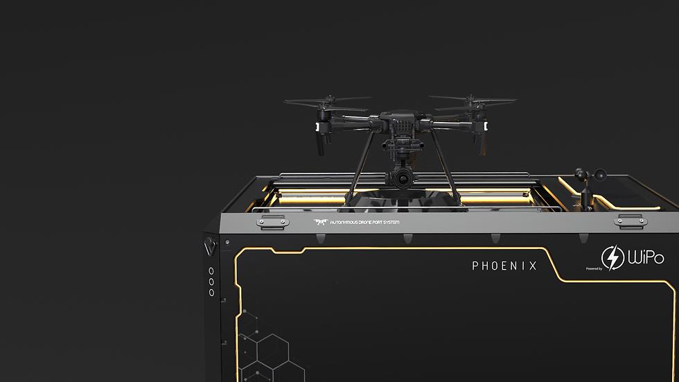 drone nest, dronesmart wireless charging, IOT, Cloud, Edge