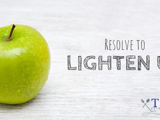 Resolve to Lighten Up