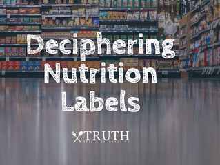 Deciphering Nutrition Labels