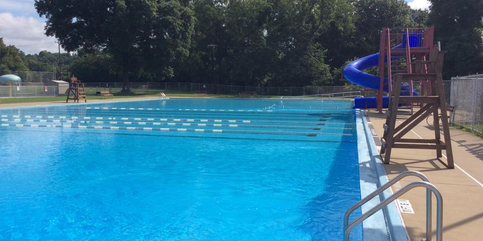 Pool Slide Side