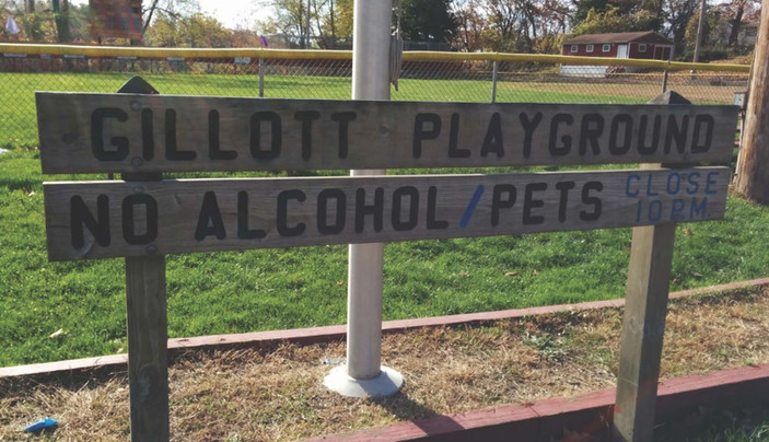 Gillott Park Sign.jpg