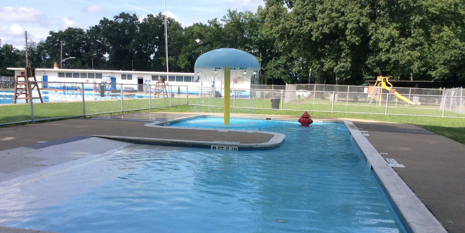 Baby Pool Memorial Park Shallow End