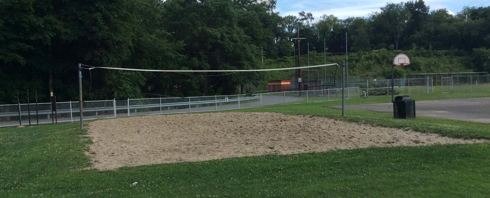 Volleyball Court Memorial Park