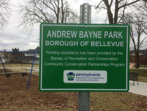Bayne DCNR Sign