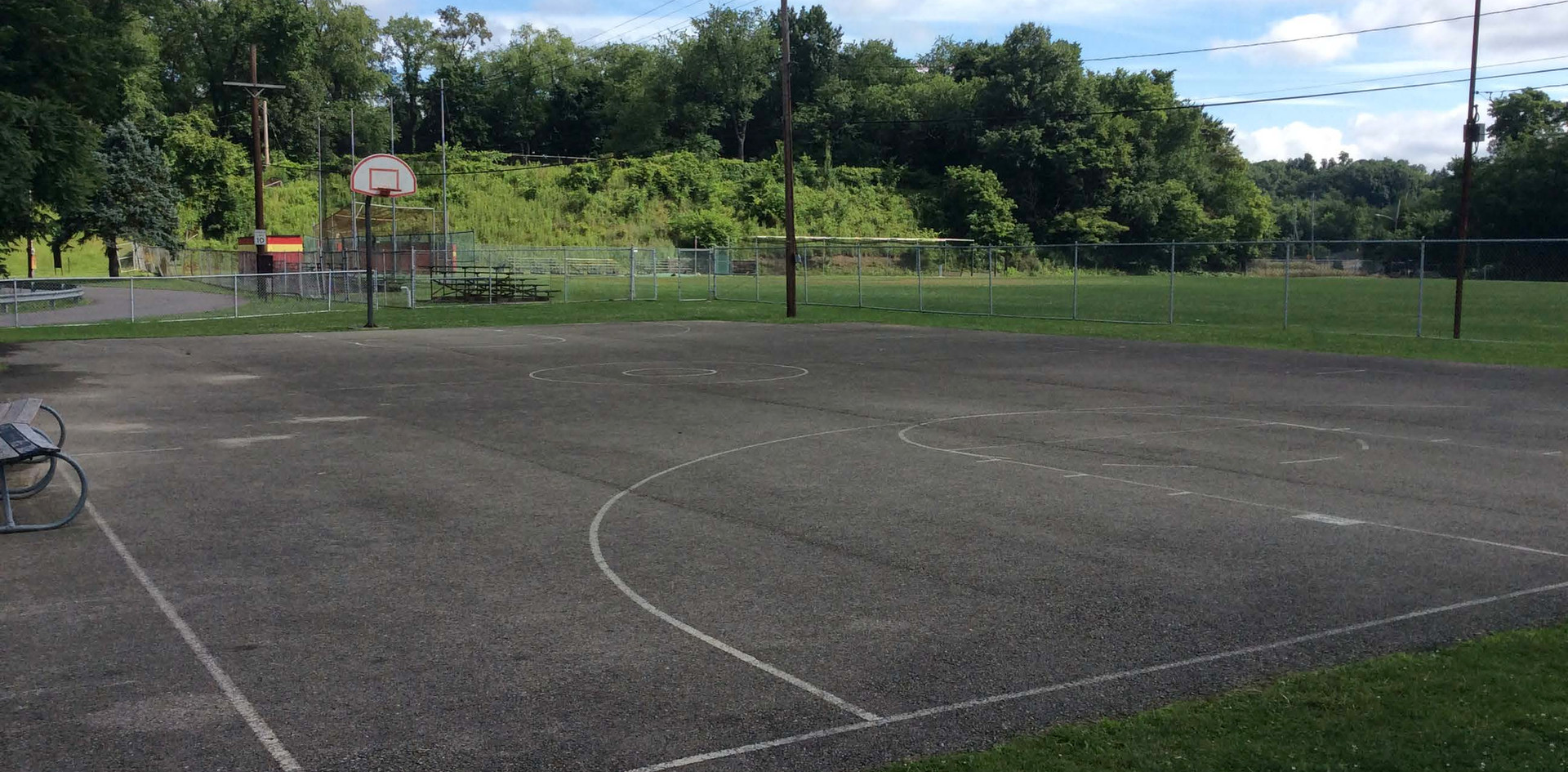 Basketball Court Memorial Park