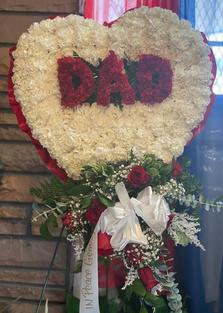 RH76- DAD HEART