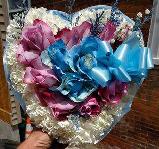 RH75 - INSIDE ROSE & CARNATION HEART