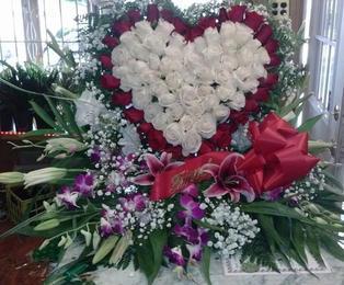 RH71 - ALL ROSE HEART