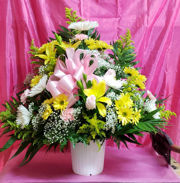 RB06 - MIXED FUNERAL BASKET