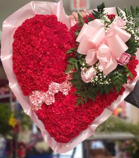 RH60 - RED/PINK BROKEN HEART