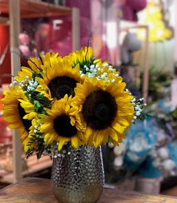 R02-Sunflowers in a Vase