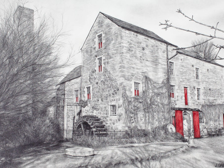 Drawing Exhibition - Irvine Townhouse