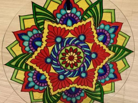 Ayrshire Arts & Crafts Workshops: Glass Painting