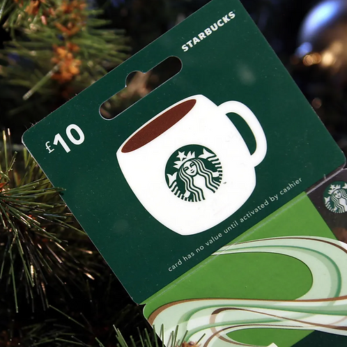 Starbucks Gift Card $5 - $25