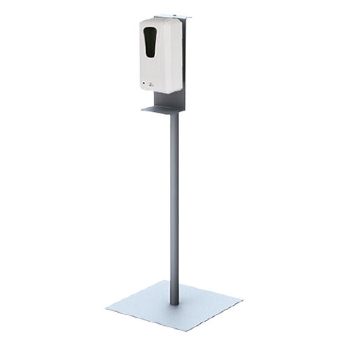 Dispenser on Silver Stand