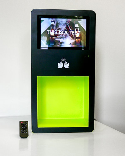 Custom Digital Hand Sanitizing Station