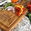 Thumbnail: Large Handled Square Cutting board with Juice Grooves