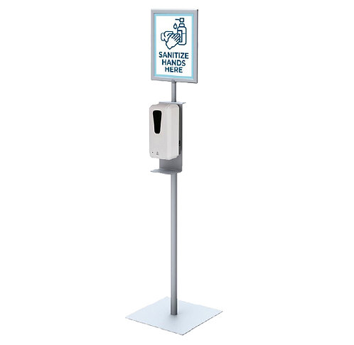 Dispenser with Sign