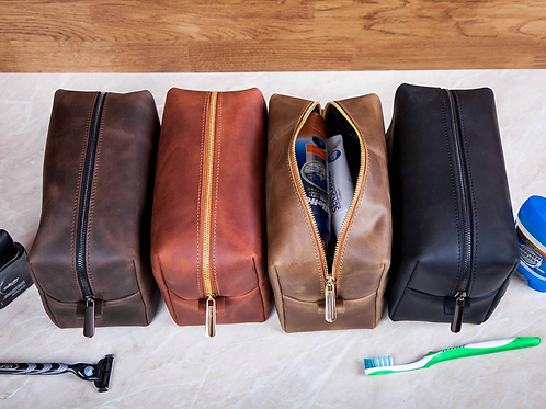 Mens Toiletry Bag - Personalized