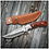 Thumbnail: Personalized Wood Handle Hunting Knife