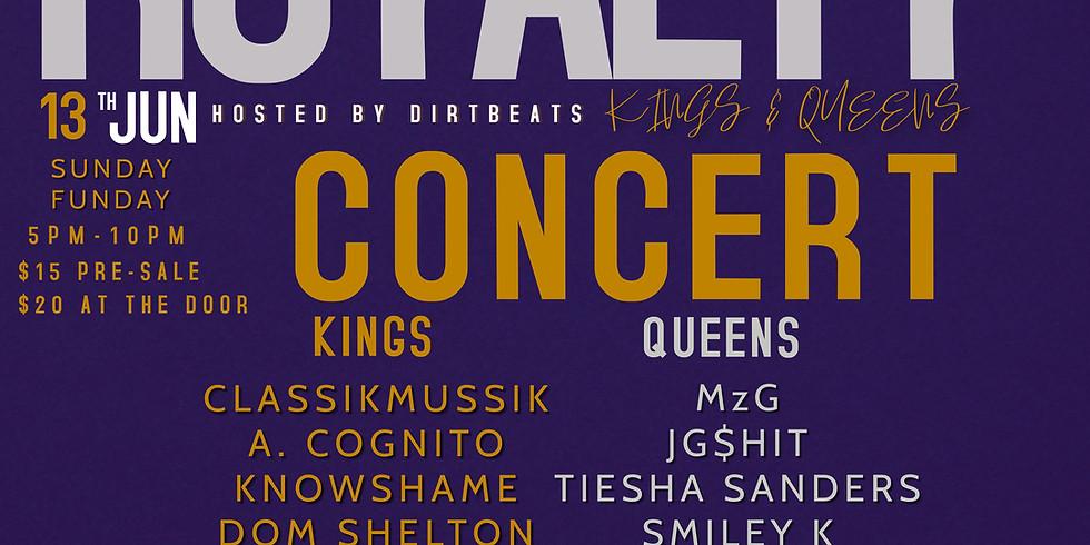 ROYALTY CONCERT : KINGS &  QUEENS