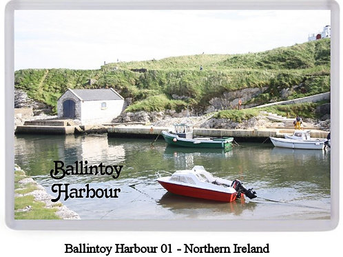 Ballintoy Harbour Fridge Magnets