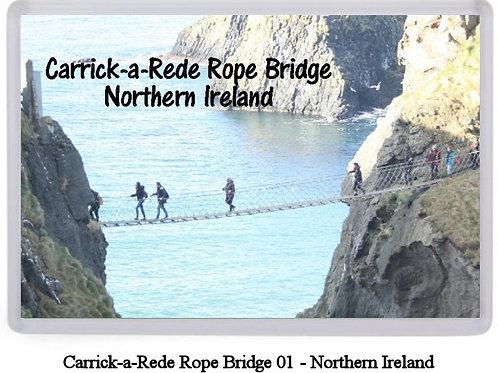 Carrick-a-Rede Rope Bridge Fridge Magnets