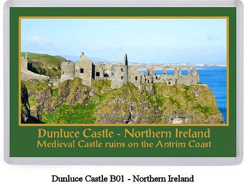 Dunluce Castle Fridge Magnet