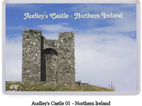 Audley's Castle Fridge Magnets