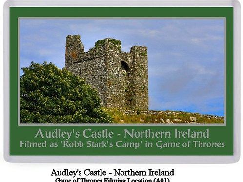 Game of Thrones Northern Ireland Filming Locations Fridge Magnets