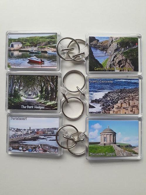 Personalised Keyrings - Acrylic