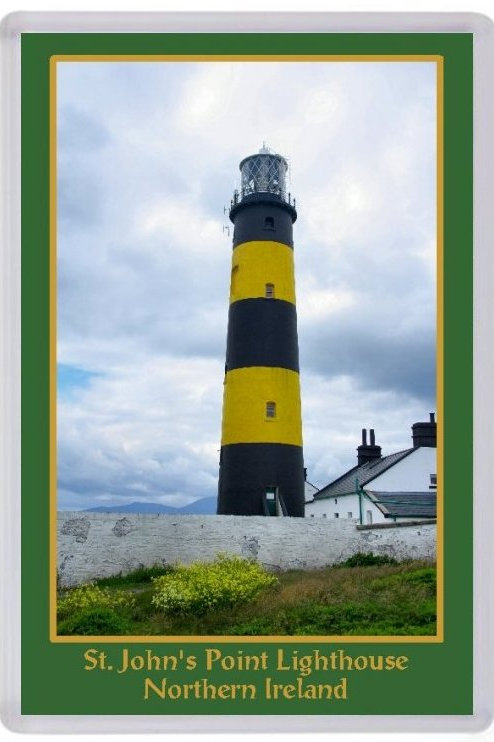 St John's Point Lighthouse Fridge Magnet