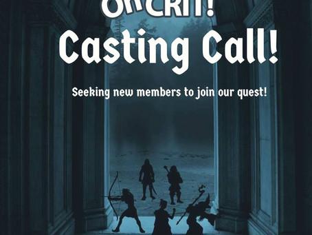 Adventurers Wanted!